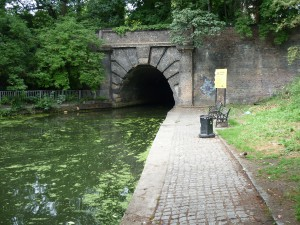 Islington canal tunnel